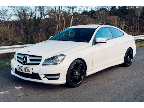 Mercedes-Benz C Class AMG Sport Plus Coupe 1.6 7G-Tronic Plus Petrol