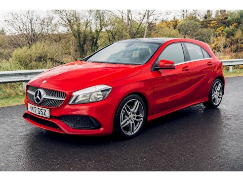 Mercedes-Benz 2.1 A200d AMG Line (Executive) Hatchback 5dr Diesel (s/s) (136 ps)