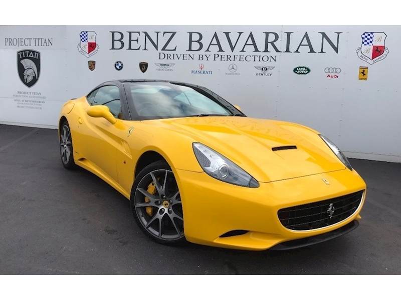 Ferrari California 2 Plus 2 4.3 2dr Convertible Semi Auto Petrol