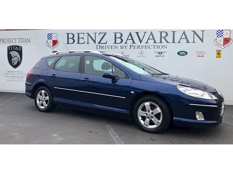 Peugeot 407 Hdi Sw Se Estate 2.0 Manual Diesel
