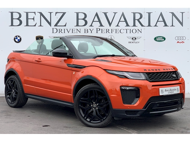 Land Rover Range Rover Evoque Td4 Hse Dynamic Convertible 2.0 Automatic Diesel