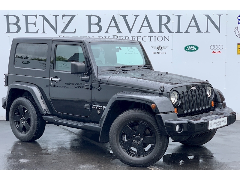 Jeep Wrangler Crd Ultimate 2.8 2dr Convertible Automatic Diesel