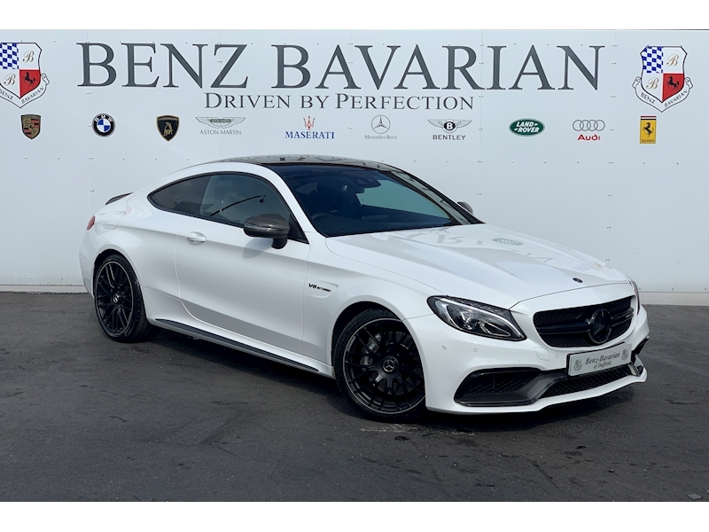 Mercedes-Benz C Class Amg C 63 Coupe 4.0 Automatic Petrol