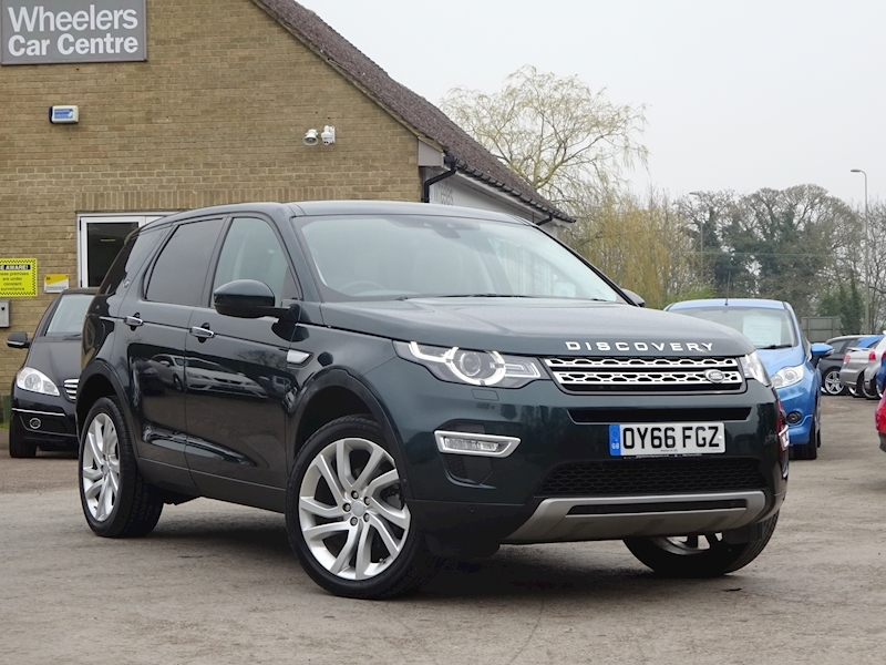 2016 Land Rover Discovery Sport - Large 0