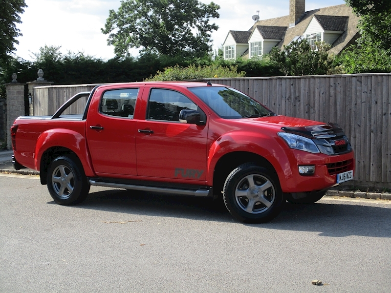 D-Max Td Fury Dcb Pick-Up 2.5 Automatic Diesel
