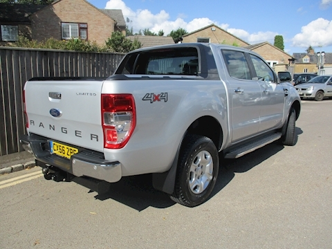 Ranger Limited 4X4 Dcb Tdci Pick-Up 3.2 Automatic Diesel
