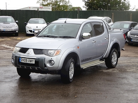 L200 4Wd Warrior Dcb Pick-Up 2.5 Manual Diesel