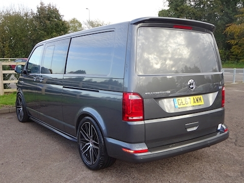 Transporter T32 Tdi Kombi Bmt 2.0 Van With Side Windows Manual Diesel