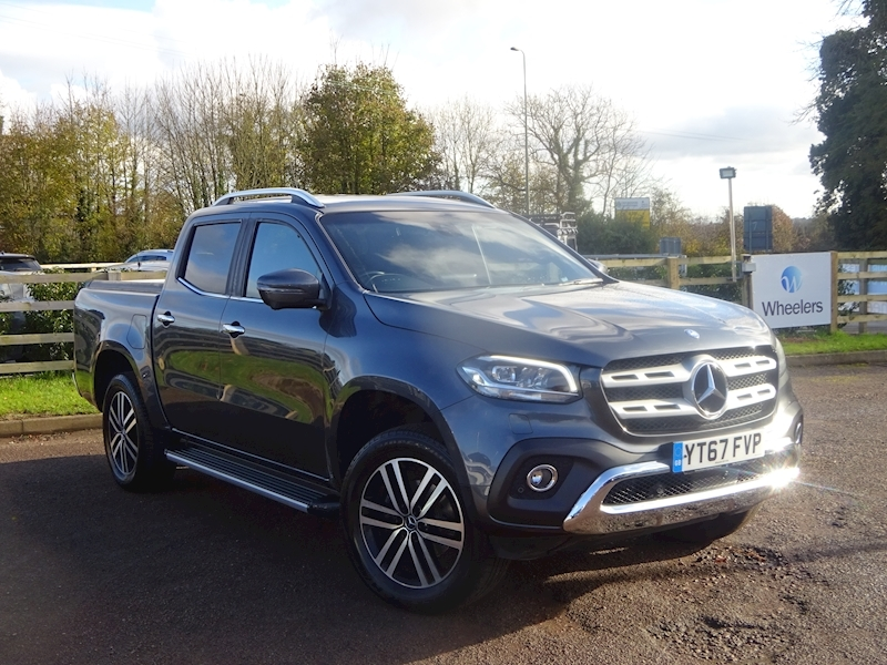 X-Class X250 D 4Matic Power Light 4X4 Utility 2.3 Automatic Diesel