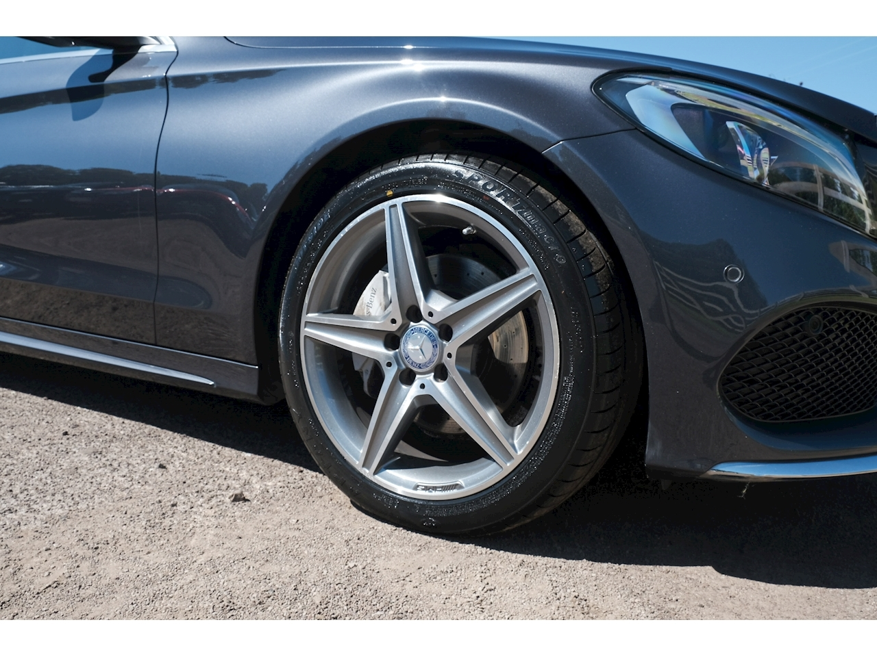 Mercedes-Benz C Class C220 Bluetec Amg Line Premium Plus Saloon 2.1 Automatic Diesel