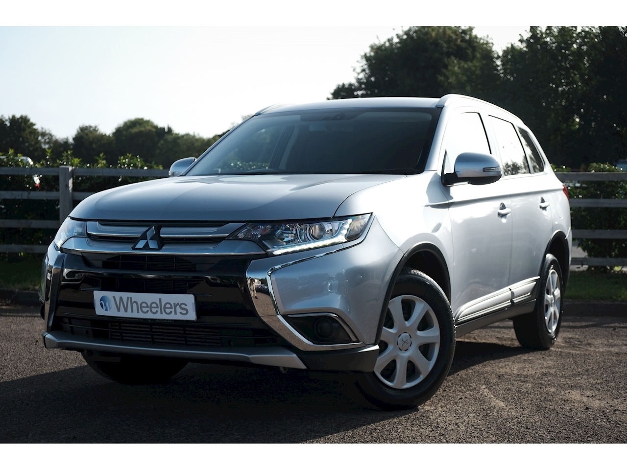 Mitsubishi Outlander Di-D Commercial Light 4X4 Utility 2.3 Manual Diesel