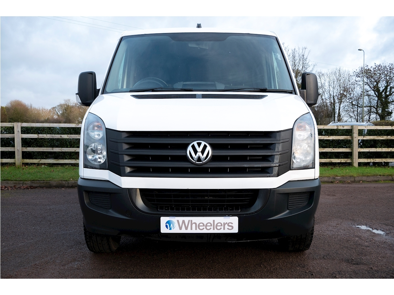 Volkswagen Crafter Cr35 Tdi H/R W/V Van With Side Windows 2.0 Manual Diesel