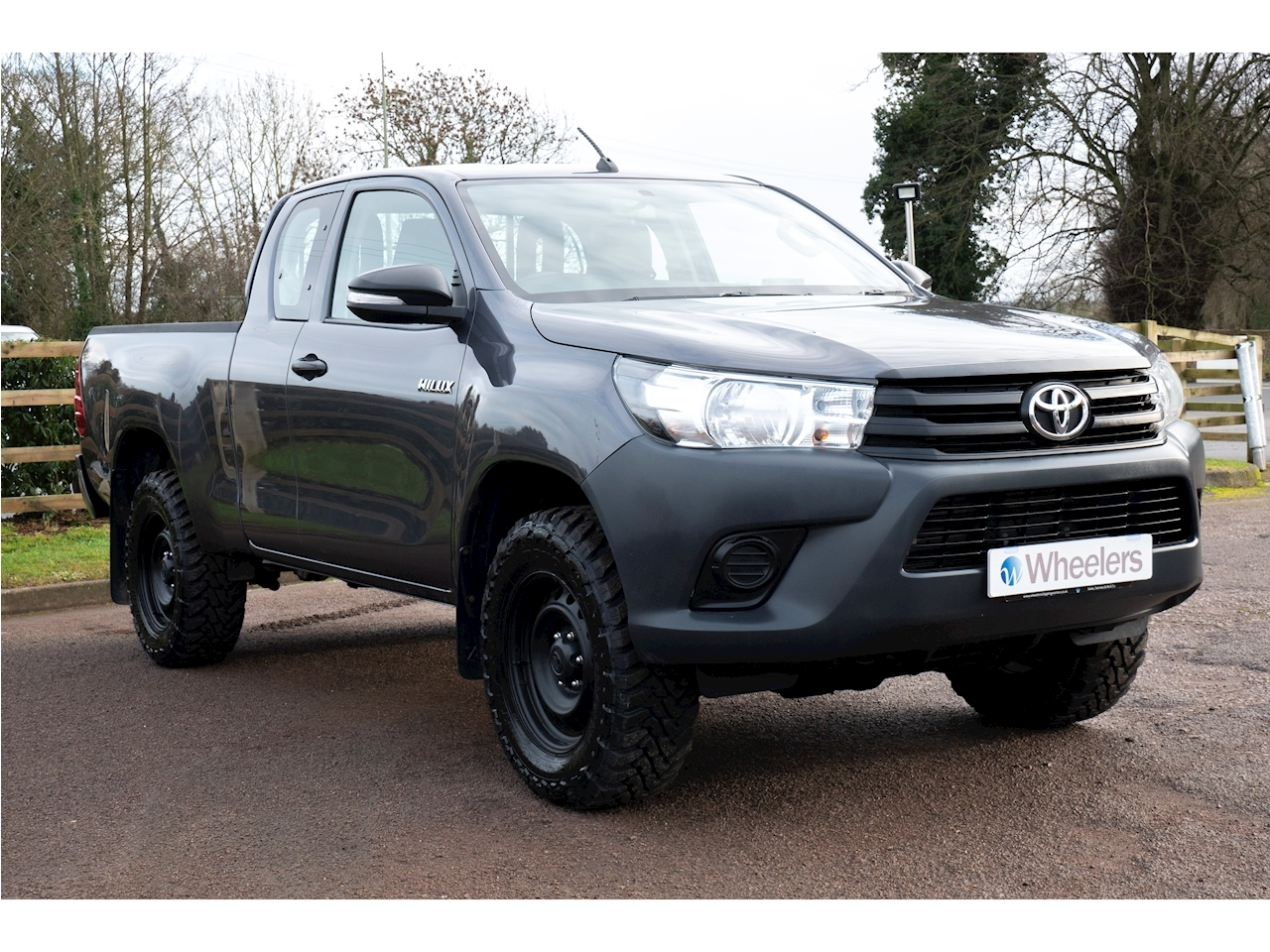 Toyota Hilux Active 4Wd D-4D Ecb Light 4X4 Utility 2.4 Manual Diesel