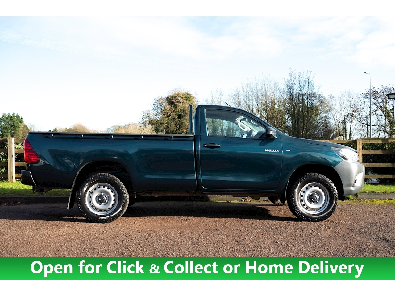 Toyota Hilux Active 4Wd D-4D S/C Light 4X4 Utility 2.4 Manual Diesel