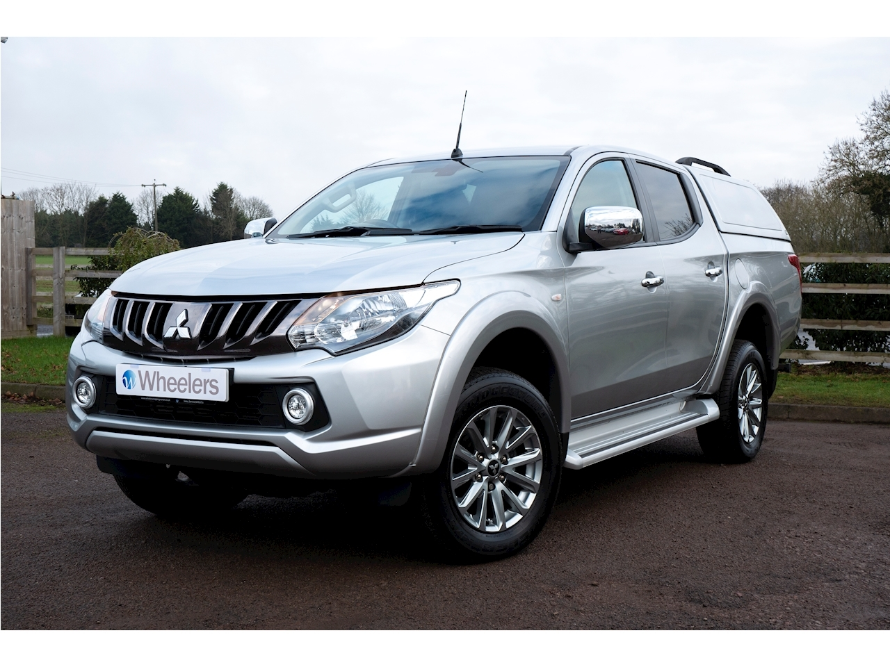 Mitsubishi L200 Di-D 4Wd Titan Dcb Pick-Up 2.4 Manual Diesel