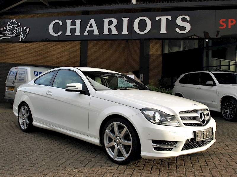 C Class C220 Cdi Amg Sport Edition Premium Coupe 2.1 Automatic Diesel