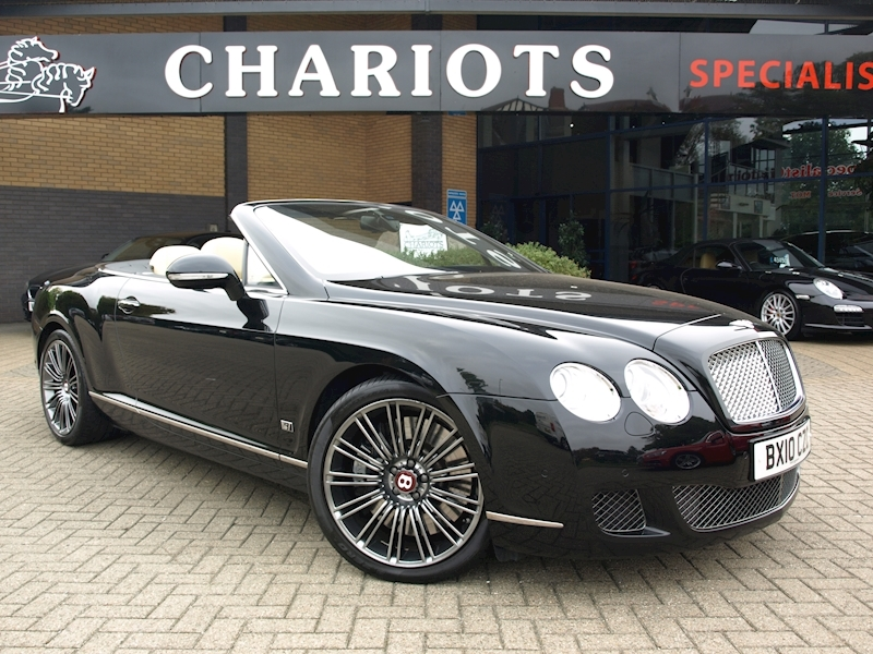 Continental Gtc Speed Convertible 6.0 Automatic Petrol