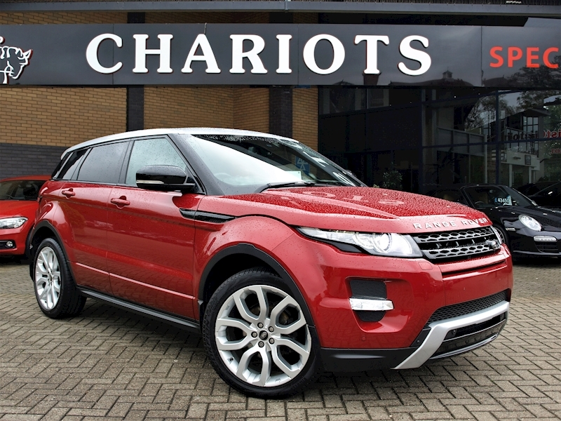 Range Rover Evoque Sd4 Dynamic Estate 2.2 Manual Diesel