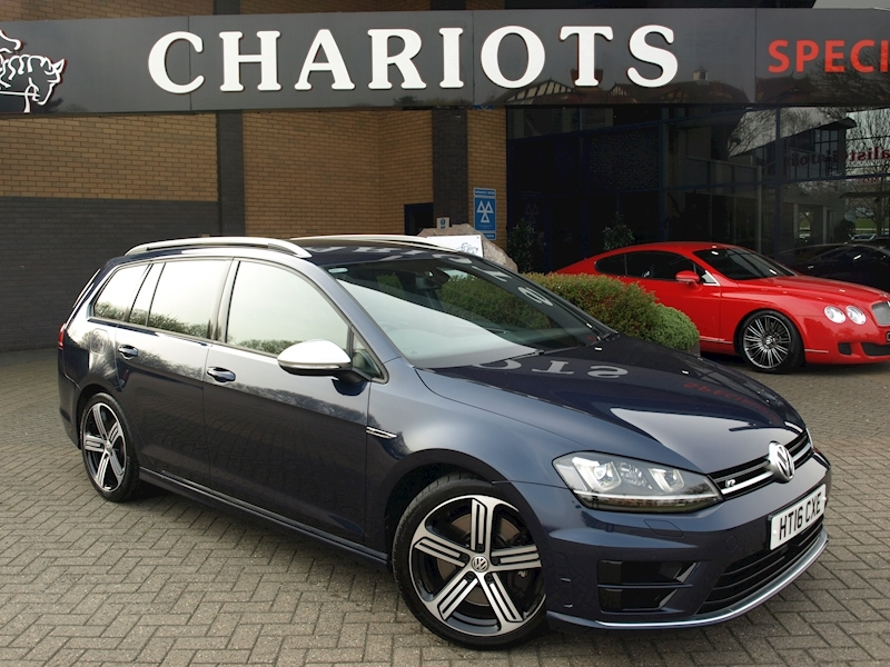 Golf R Tsi Dsg Estate 2.0 Semi Auto Petrol