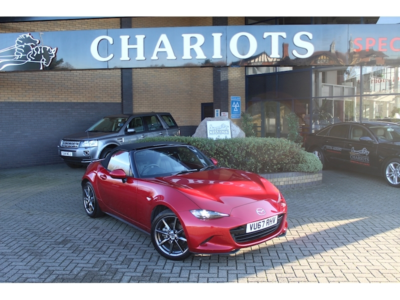 Mx-5 Sport Nav Convertible 2.0 Manual Petrol