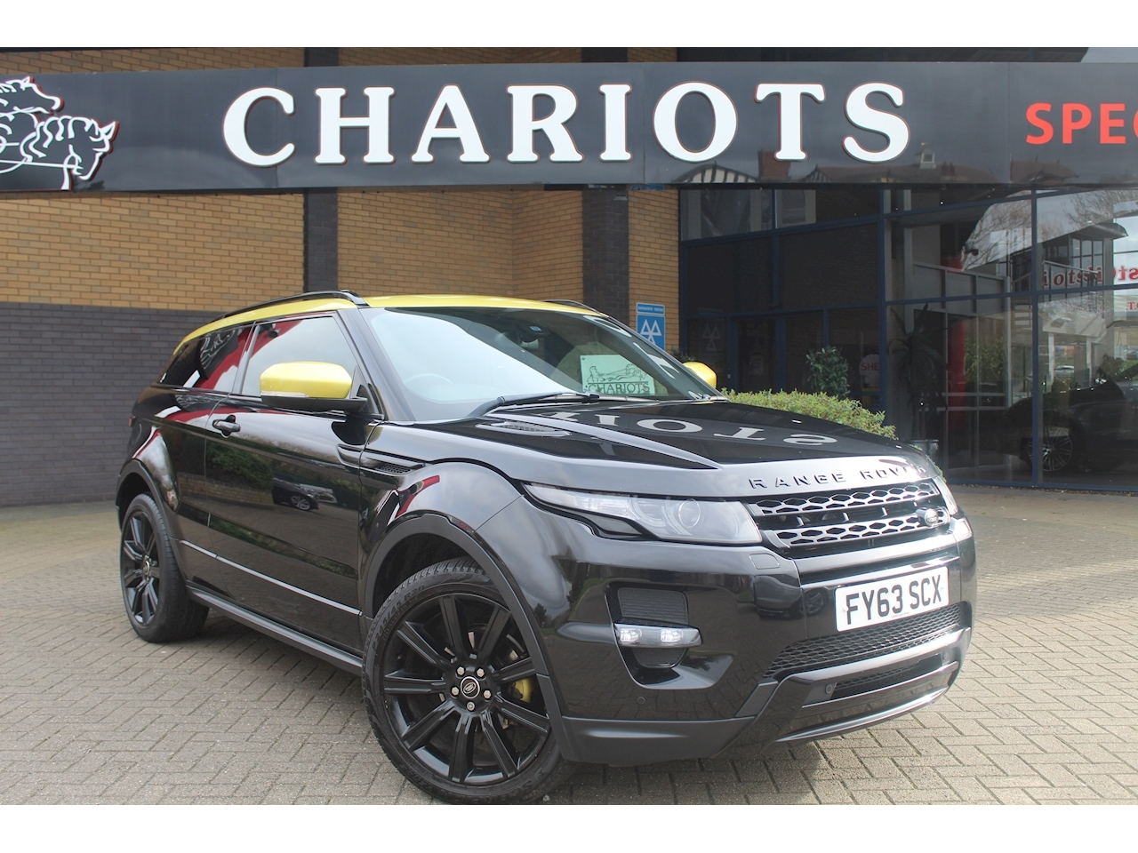Range Rover Evoque Sd4 Sicilian Yellow Coupe 2.2 Automatic Diesel