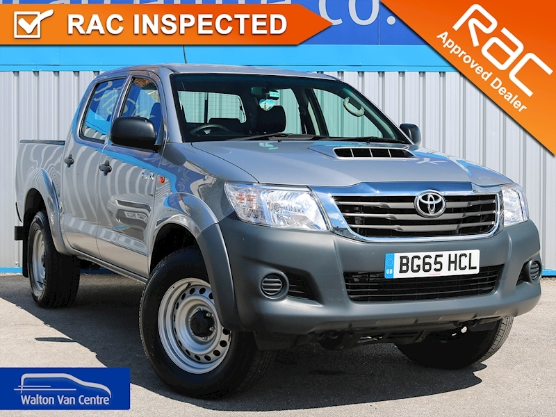 Hilux Active 4X4 D-4D Dcb 2.5 4dr Light 4X4 Utility Manual Diesel