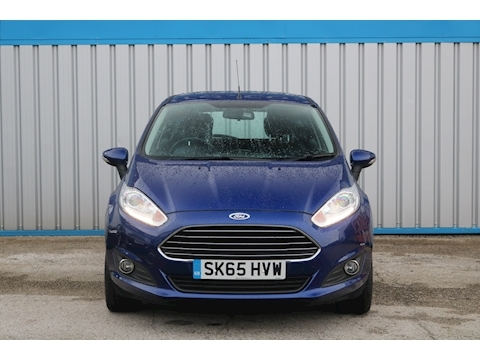 Fiesta Zetec 1.5 5dr Hatchback Manual Diesel