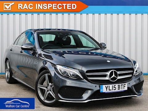 Mercedes C Class C200 Bluetec Amg Line Premium Plus