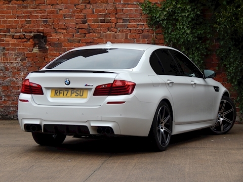 5 Series M5 Competition Edition Saloon 4.4 Automatic Petrol
