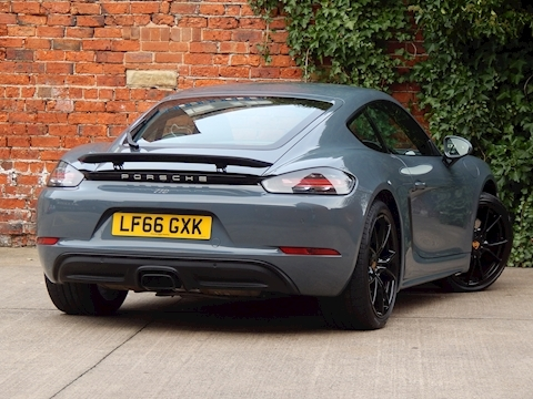 718 718 Cayman Coupe 2.0 Manual Petrol