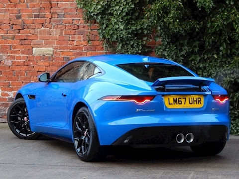 F-Type V6 R-Dynamic Coupe 3.0 Automatic Petrol