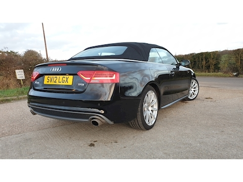 A5 TFSi S Line Black Edition Convertible