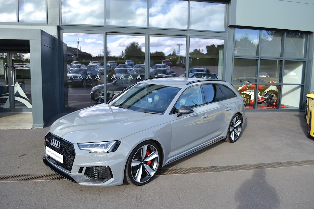 A4 Rs 4 Tfsi Quattro Carbon Edition Estate 2.9 Automatic Petrol