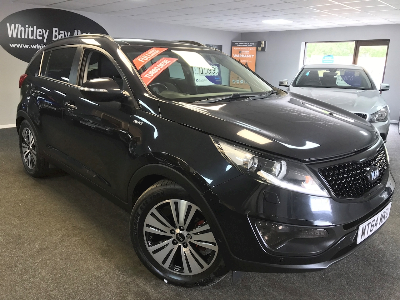Sportage Crdi Kx-4 Estate 2.0 Manual Diesel