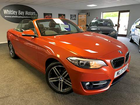 BMW 2 Series 218i Sport Convertible