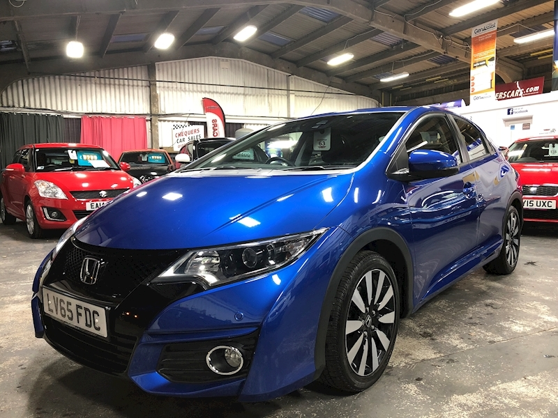 Honda Civic I-Vtec Se Plus - Large 2