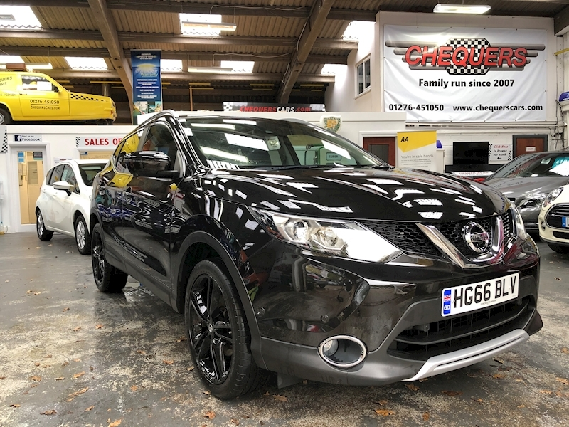 Qashqai Dci Black Edition Hatchback 1.5 Manual Diesel