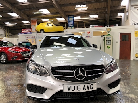 E Class E300 Bluetec Hybrid Amg Night Edition Saloon 2.1 Automatic Diesel/Electric