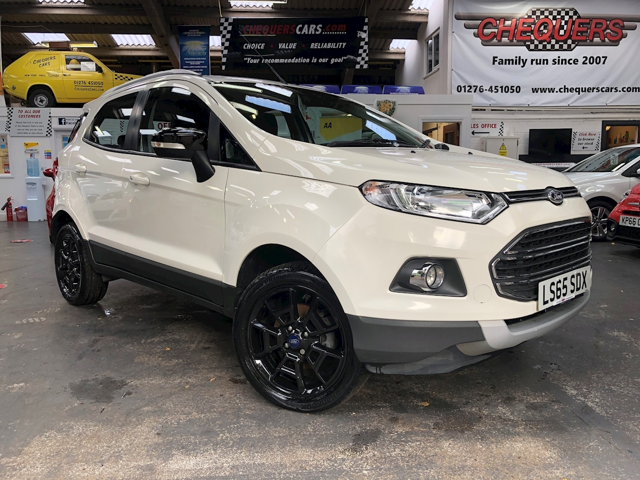 Ford EcoSport Titanium 1.0 5dr Hatchback Manual Petrol