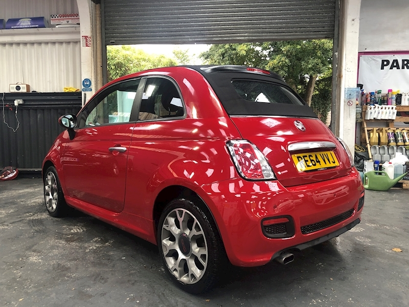 Fiat 500 500c 0.9 Twinair 105hp S Convertible - Large 4