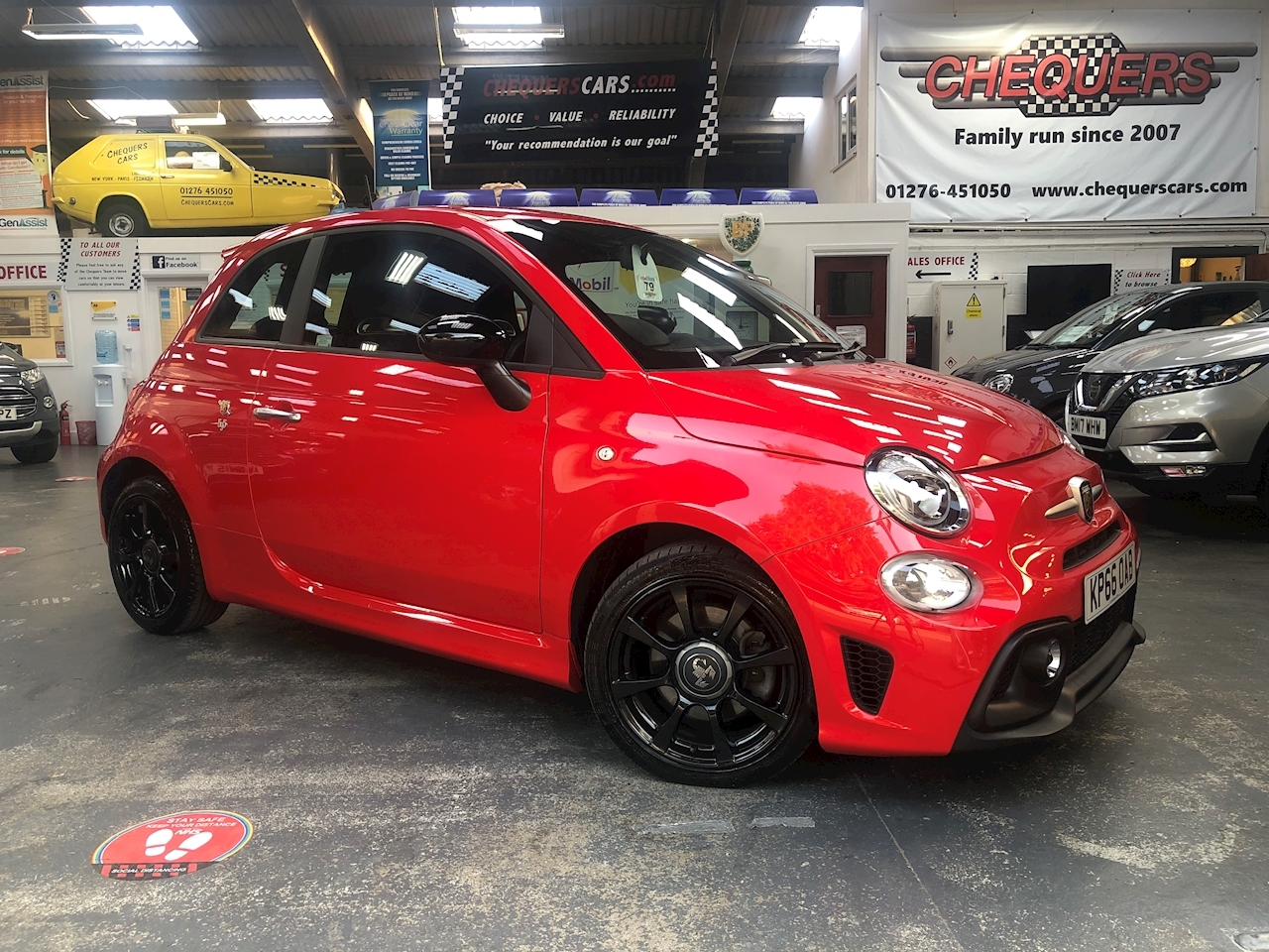Abarth 500 Abarth 595 1.4 Tjet 145hp Hatchback 1.4 Manual Petrol