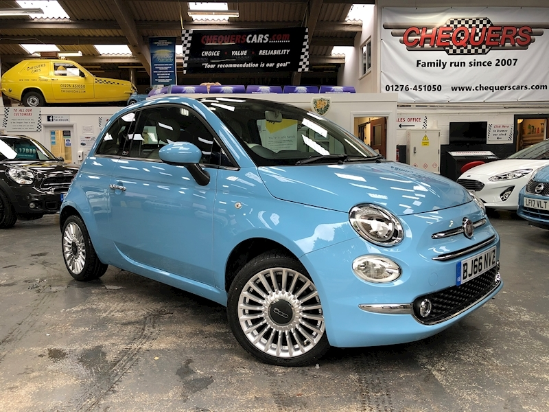 Fiat 500 500c My17 1.2 69hp Lounge Convertible - Large 0