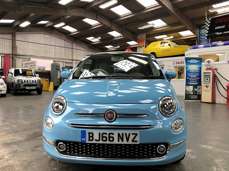 Fiat 500 500c My17 1.2 69hp Lounge Convertible - Large 1