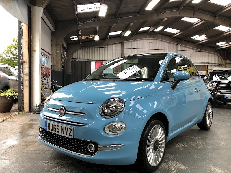 Fiat 500 500c My17 1.2 69hp Lounge Convertible - Large 2
