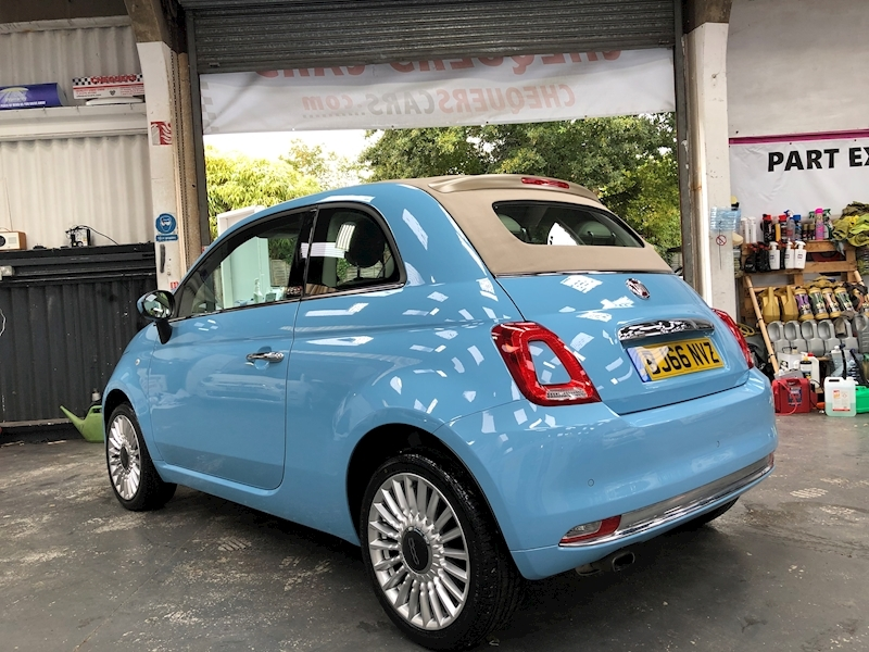 Fiat 500 500c My17 1.2 69hp Lounge Convertible - Large 4