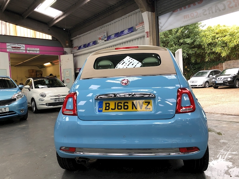 Fiat 500 500c My17 1.2 69hp Lounge Convertible - Large 5
