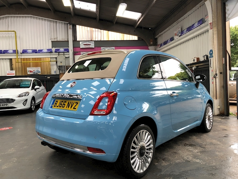 Fiat 500 500c My17 1.2 69hp Lounge Convertible - Large 6