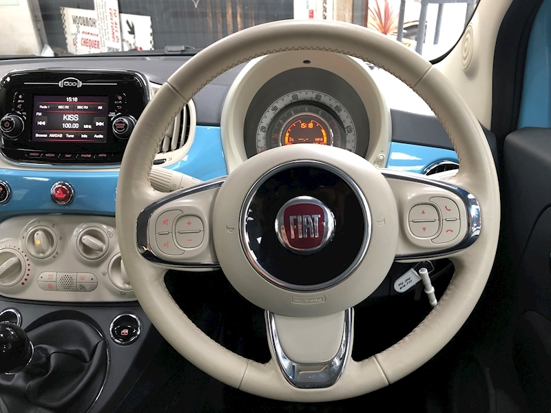 Fiat 500 500c My17 1.2 69hp Lounge Convertible - Large 11