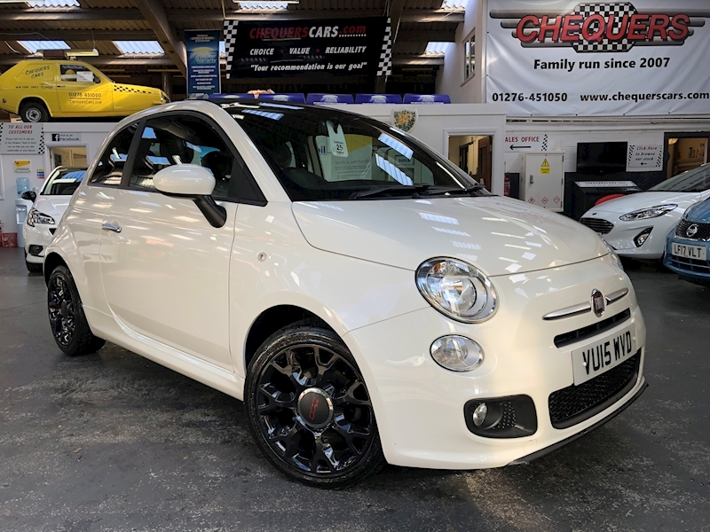 Fiat 500 500c 0.9 Twinair 85hp S Convertible - Large 0