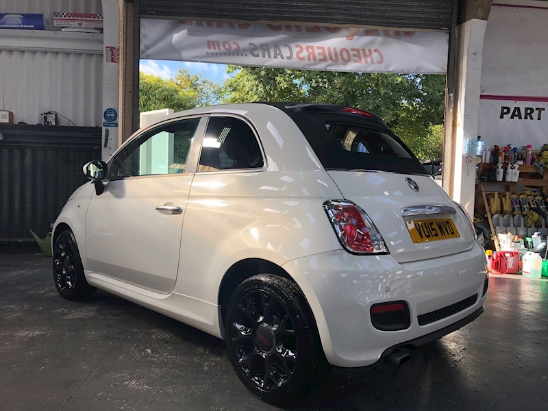 Fiat 500 500c 0.9 Twinair 85hp S Convertible - Large 4